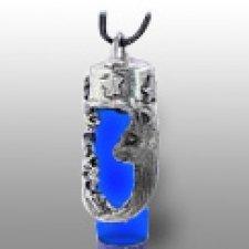 Cat Blue Remembrance Necklace