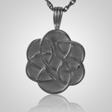 Celtic Flower Cremation Pendant