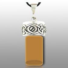 Celtic Brown Pet Cremation Necklace