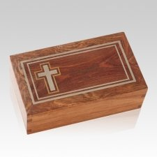 Christian Caribbean Cremation Urn