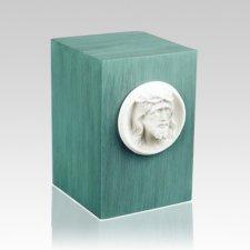 Christo Patina Bronze Urn