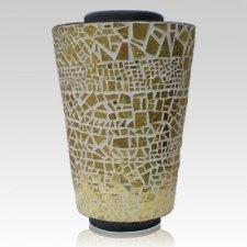 Classic Mosaic Cremation Urn
