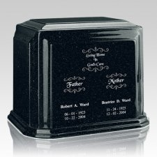 Emerald Marble Urn For Two