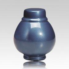 Blue Coronet Pet Cremation Urns