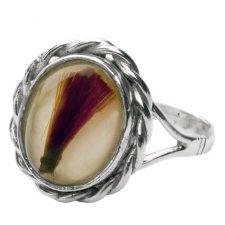 Cremation Ash Vintage Ring IV