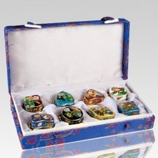 Deluxe Variety Cloisonne Cremation Urns