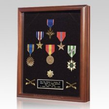 Military Veteran Display Case