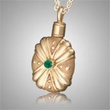 Duchess Gothic Emerald Cremation Pendant II