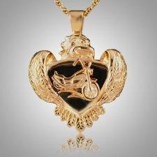 Eagle with Motorcycle Keepsake Jewelry II