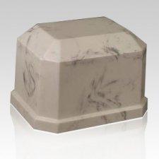 Eden Ecru Marble Cremation Urn
