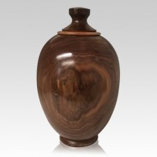 Elder Wood Cremation Urn