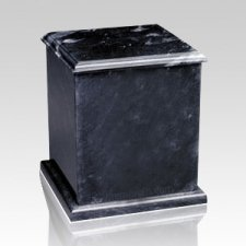 Eversquare Black Keepsake Cremation Urn