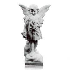 Flower Angel Marble Statues