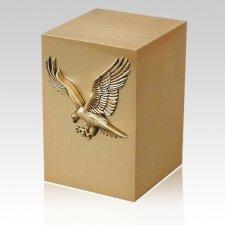 Freedom Bronze Cremation Urn