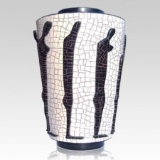 Friends Mosaic Cremation Urn
