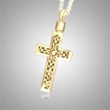Cross Filigree Cremation Jewelry II