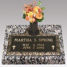 Grape Devotion Grave Marker