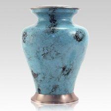 Glenwood Blue Cremation Urn