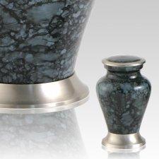 Glenwood Gray Marble Keepsake Cremation Urn
