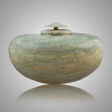 Green Alabaster Cremation Urn