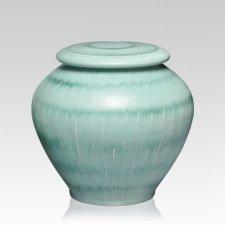 Green Grass Medium Cremation Urn