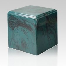 Harmony Verde Marble Cremation Urn