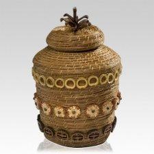 Hawaii Basket Nature Cremation Urn