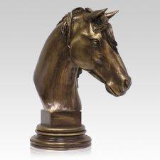 Horse Photo Cremation Urn