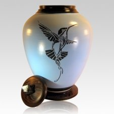 Hummingbird Nature Cremation Urn