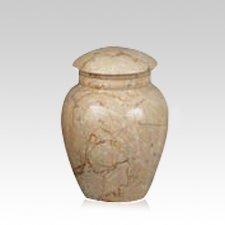 Illume Ecru Medium Marble Urn