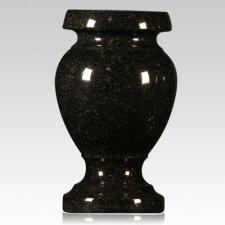 India Black Granite Vase