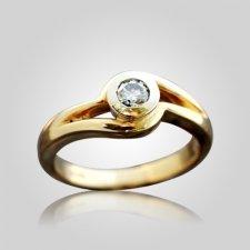 Infinity Bezel Set Ring