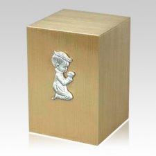 Innocence Boy Cremation Bronze Urn
