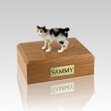 Japanese Bobtail Tort Small Cat Cremation Urn