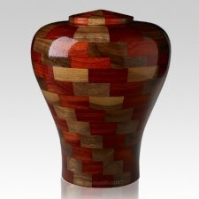 Karlo Large Wood Urn