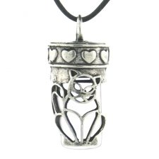 Kitty Pet Necklace Urn