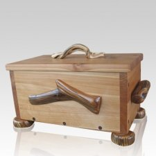 Rubezahl Juniper Wood Urn for Two