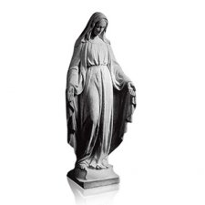 Lady of Grace Medium Marble Statues