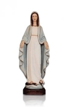 Lady of Lourdes Open Arms Small Fiberglass Statues
