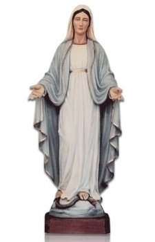 Lady of Lourdes Open Arms X Large Fiberglass Statues