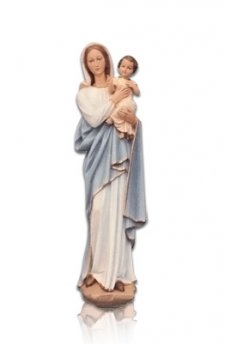 Lady with Child on Arm Small Fiberglass Statues
