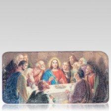 Last Supper Medallion Applique