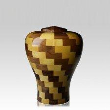 Latida Medium Wood Urn