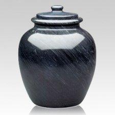 Legacy Black Keepsake Cremation Urn