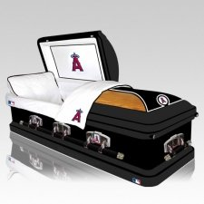 Los Angeles Angels Casket