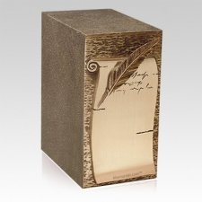 Love Notes Cremation Urn