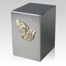 Lustro Prayer Steel Urn
