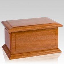 Maine Wood Cremation Urn
