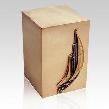 Maritime Bronze Cremation Urn