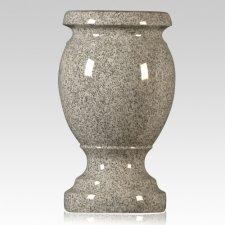 Medium Gray Granite Vase